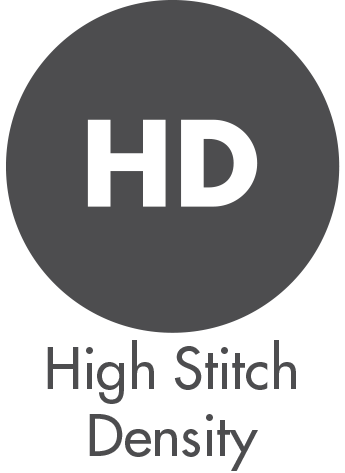 High Stitch Density