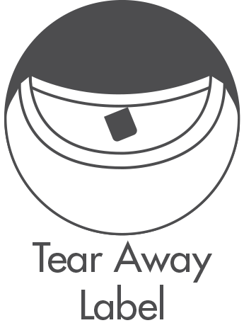 Tear Away Label